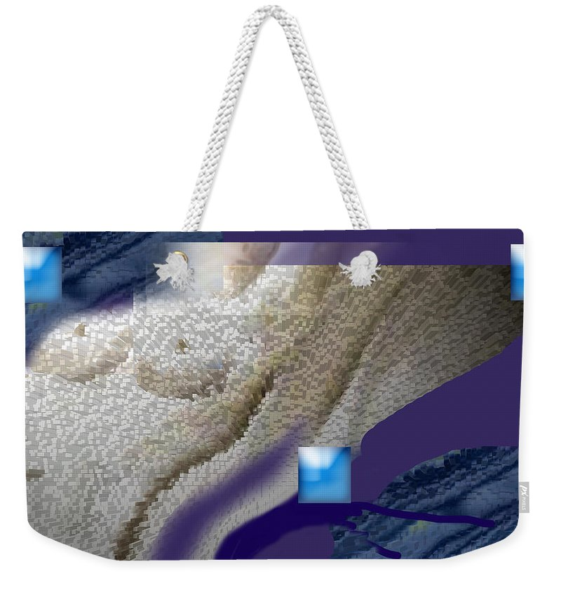 Abstract Weekender Tote Bag featuring the digital art Prelude To A Dream by Steve Karol