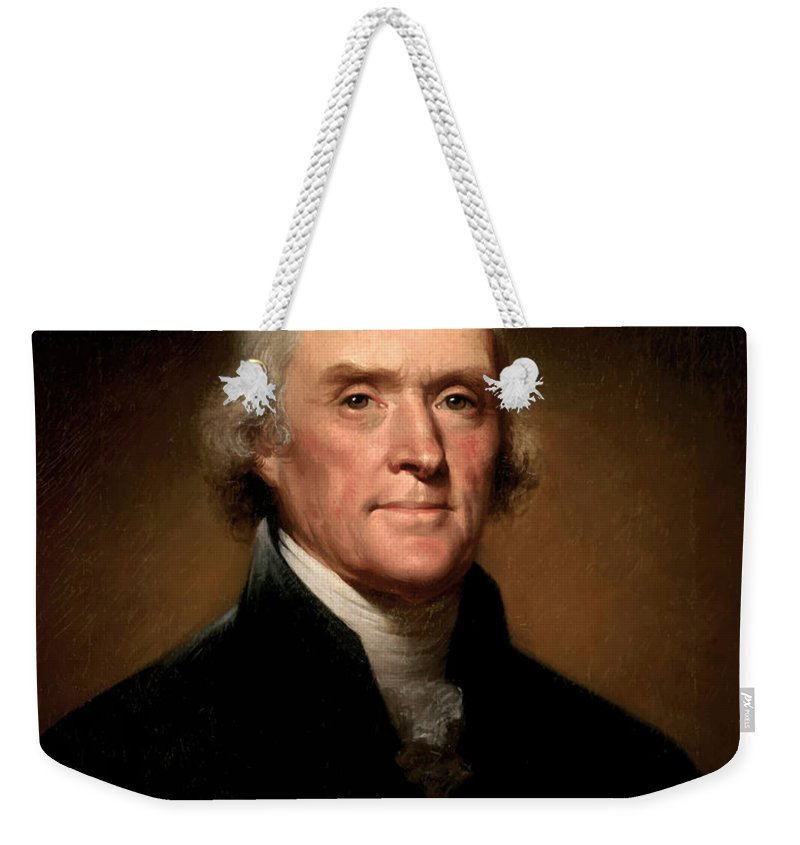 Thomas Jefferson Weekender Tote Bags