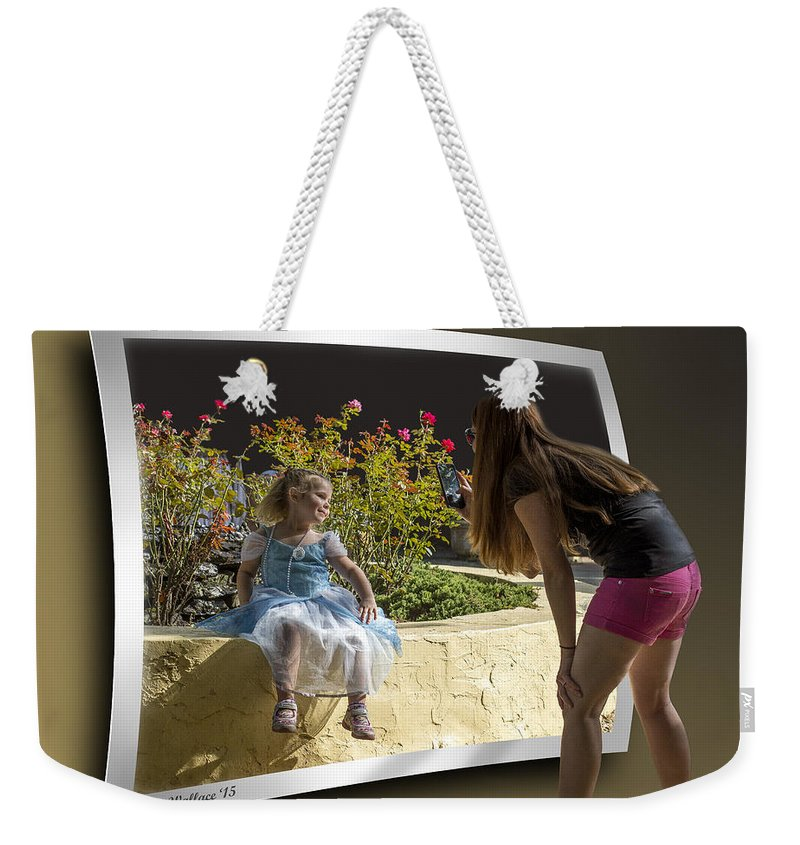 2d Weekender Tote Bag featuring the photograph Pretty As A Picture by Brian Wallace