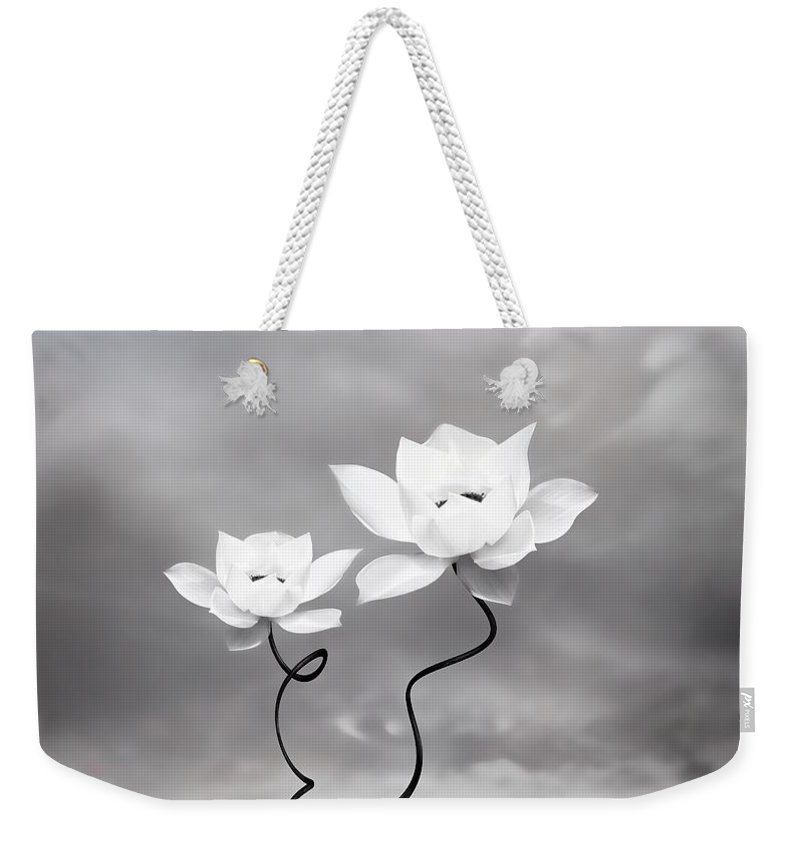 Surreal Weekender Tote Bag featuring the photograph Prevail by Jacky Gerritsen