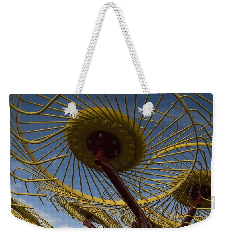 Farm Weekender Tote Bag featuring the photograph Primary 2 by Sara Stevenson