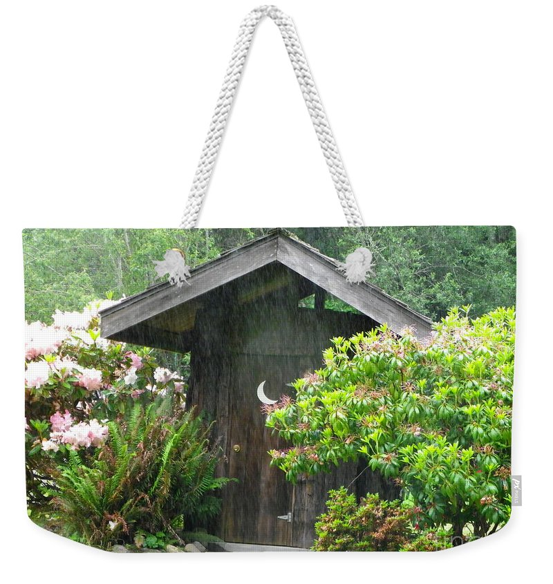 Weekender Tote Bag featuring the photograph Primitive Nature-color by Charleen Treasures