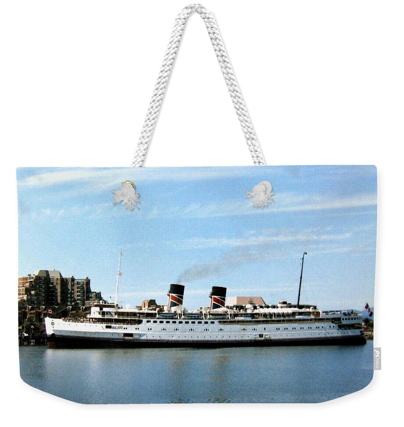 Princess Marguerite Weekender Tote Bag featuring the photograph Princess Marguerite by Will Borden
