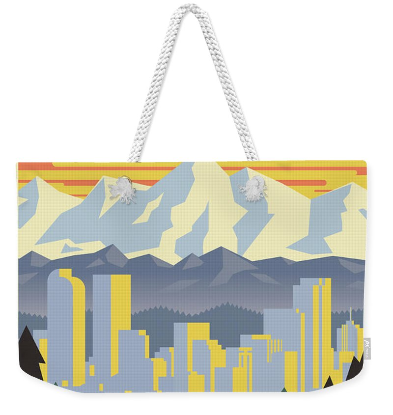 Colorado Rockies Weekender Tote Bags