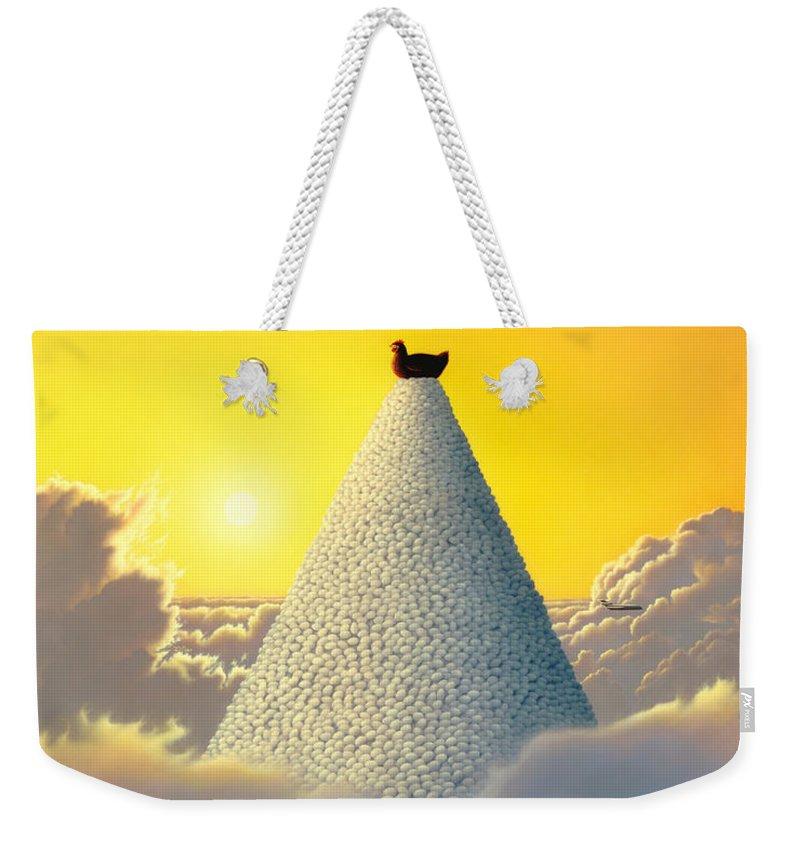 Fowl Weekender Tote Bags