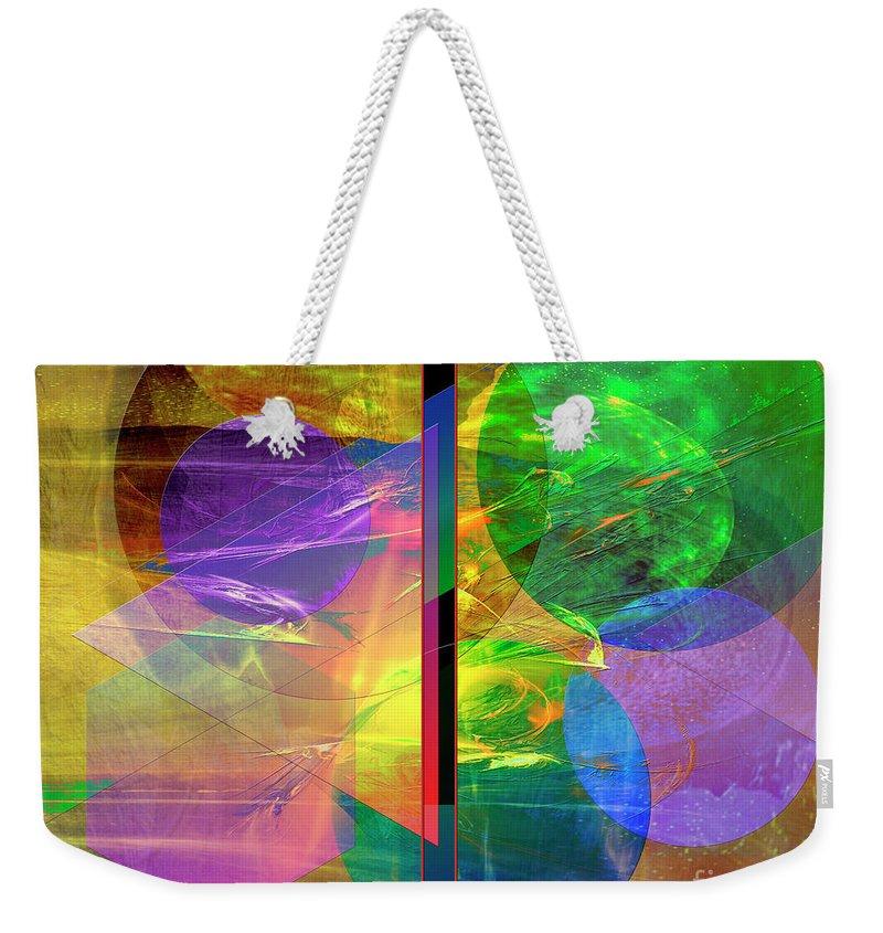 Progressive Intervention Weekender Tote Bag featuring the digital art Progressive Intervention by John Beck
