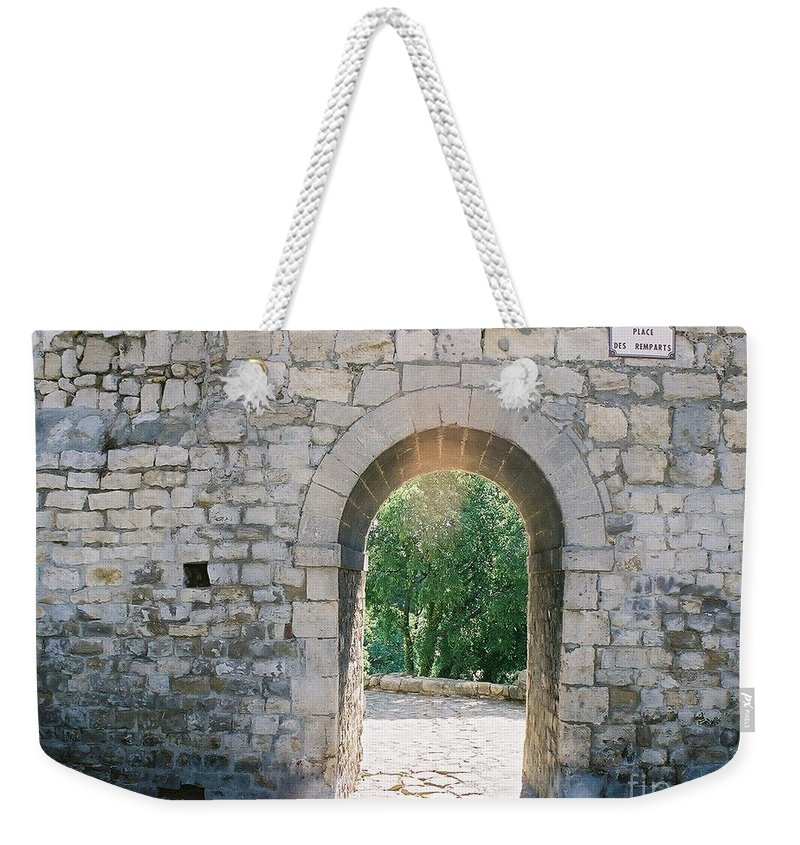 Promise Weekender Tote Bag featuring the photograph Promise by Nadine Rippelmeyer