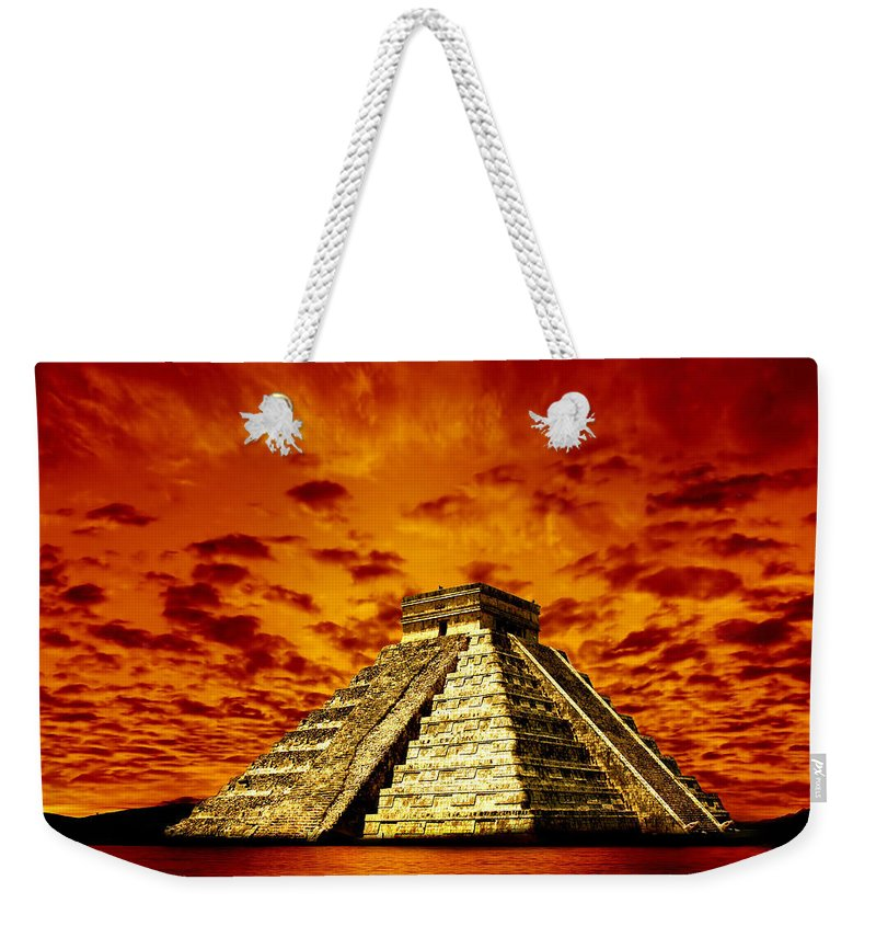 Photodream Weekender Tote Bag featuring the photograph Prophecy by Jacky Gerritsen
