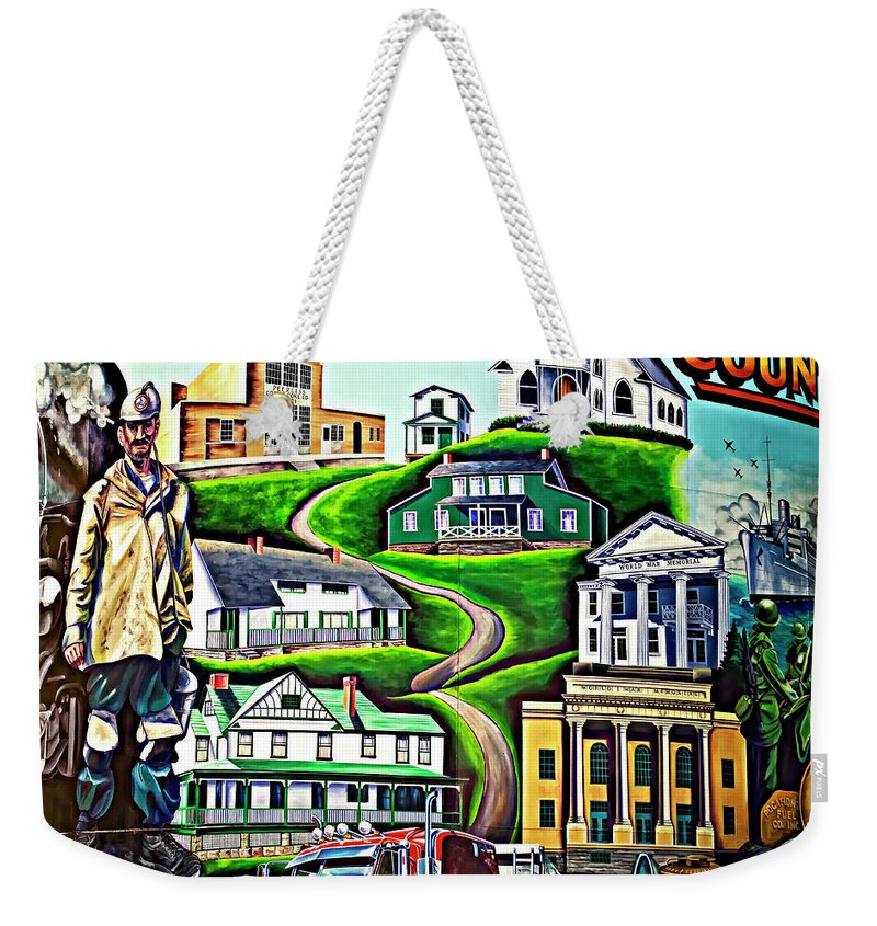 Welch Weekender Tote Bag featuring the photograph Proud Heritage by Steve Harrington
