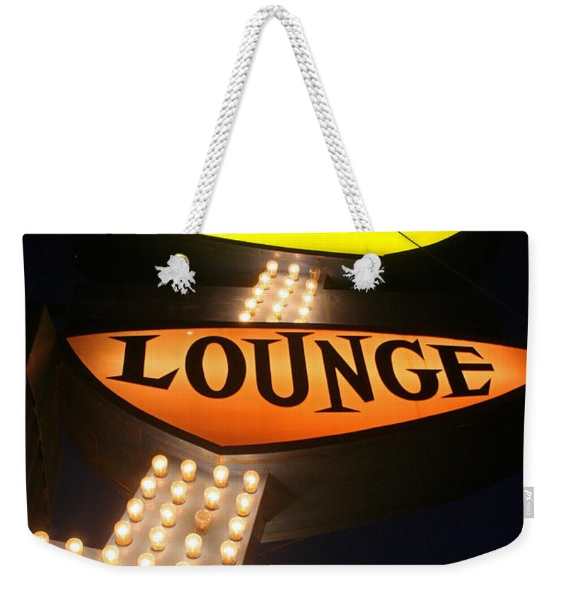 Ps Lounge Weekender Tote Bag featuring the photograph Ps Lounge by Jeffery Ball