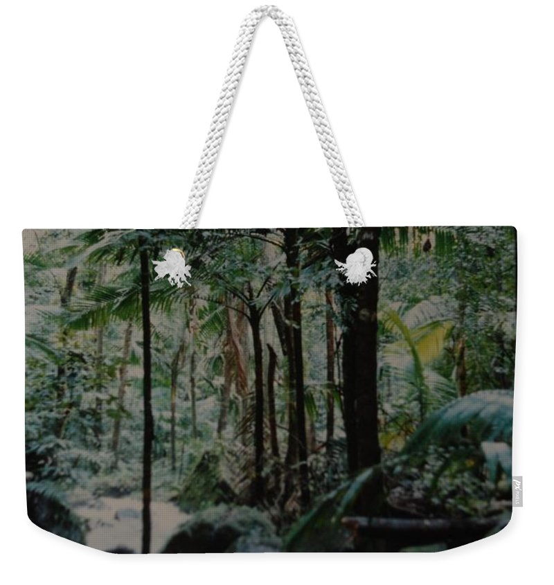 Trees Weekender Tote Bag featuring the photograph Puerto Rico by Rob Hans