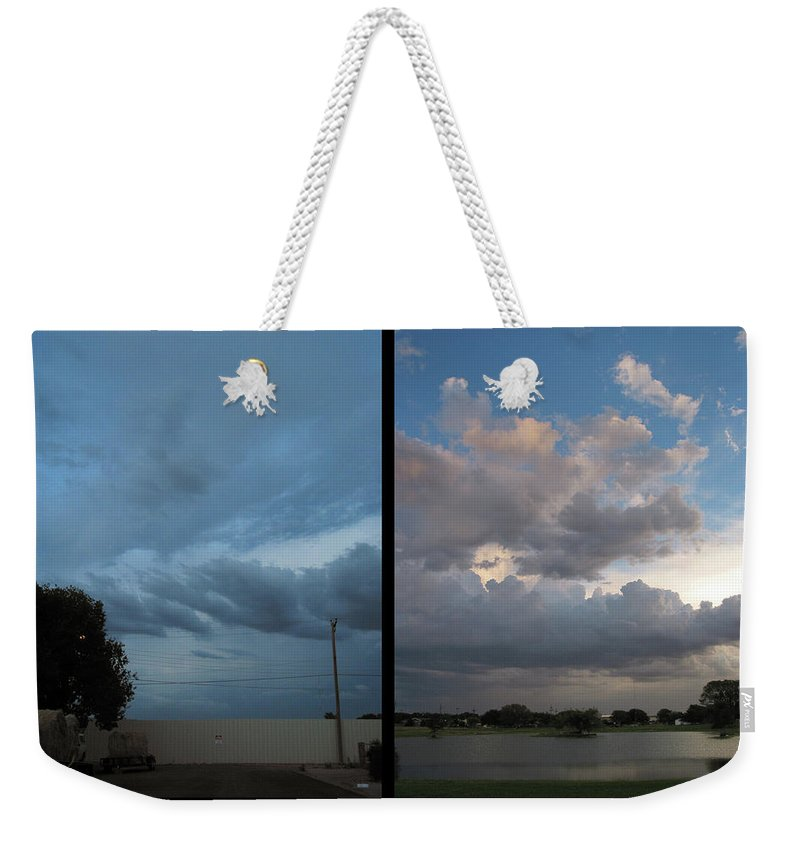 Purgatory Weekender Tote Bag featuring the photograph Purgatory by James W Johnson