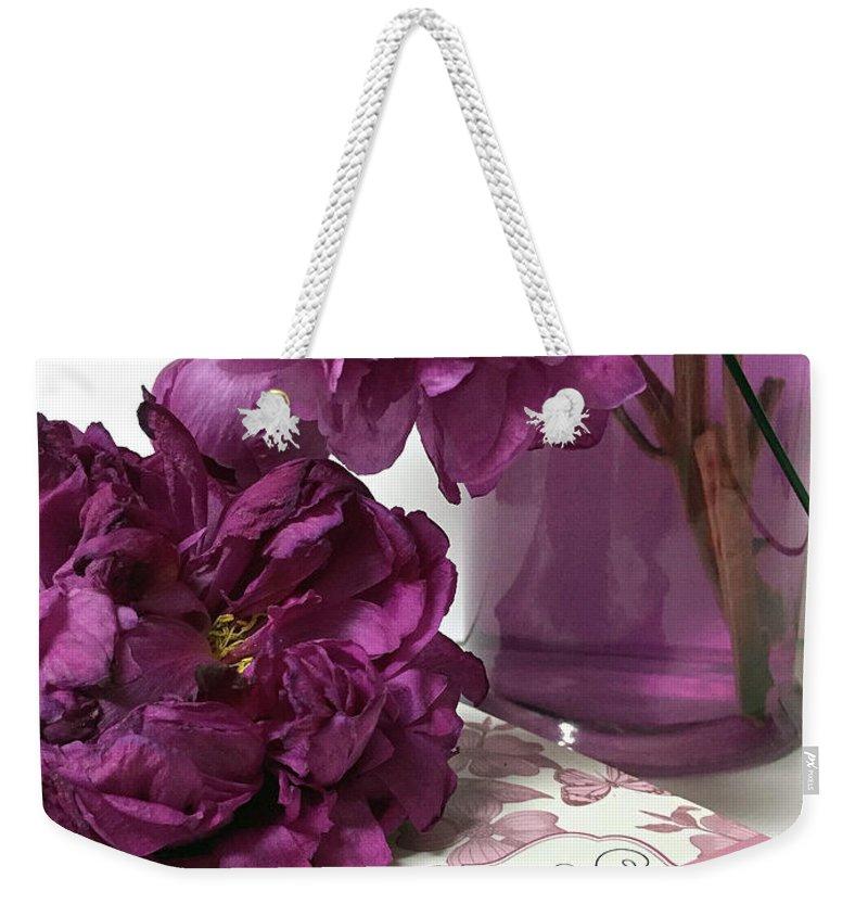 Purple Lavender Peonies Live Laugh Love Inspirational Peony Print