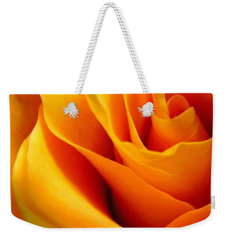 Rose Weekender Tote Bag featuring the photograph Queen Rose by Rhonda Barrett