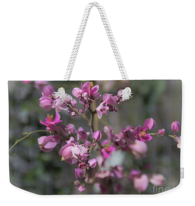 Queens Jewels Weekender Tote Bag featuring the photograph Queen's Jewels by Amy Sorvillo