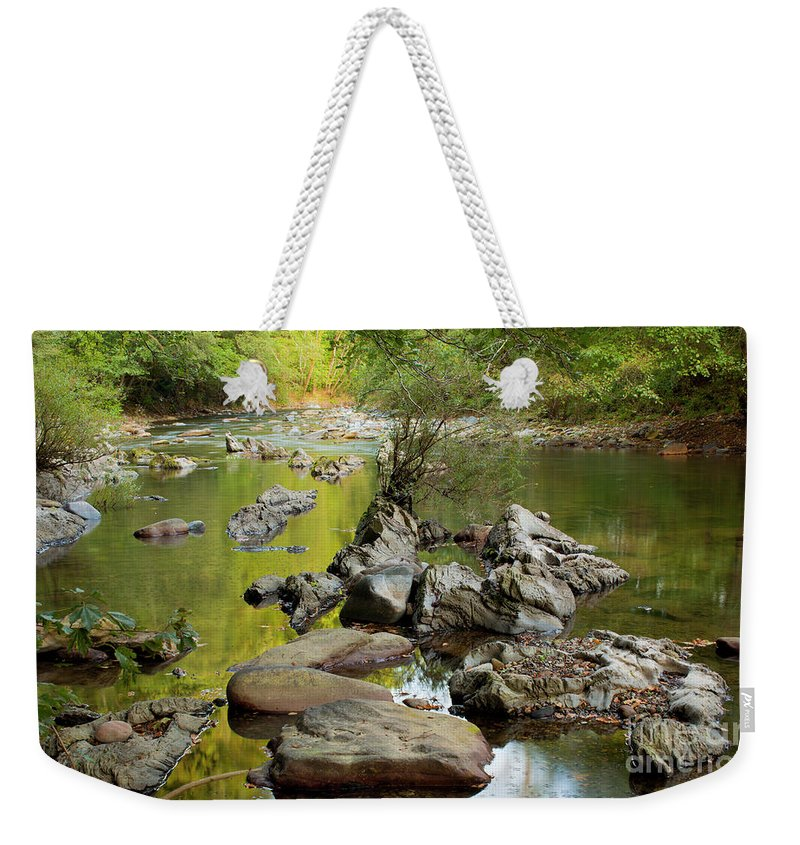 Nature Weekender Tote Bag featuring the photograph Quiet Evening by Xabi Lobo