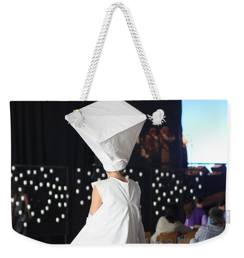 Phot.woman Weekender Tote Bag featuring the photograph Quiet Moment by Jo Hoden