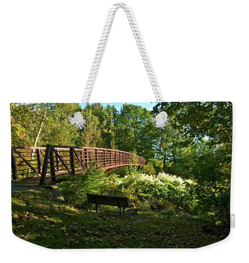 images Of Vermont Weekender Tote Bag featuring the photograph Quiet Spot by Paul Mangold