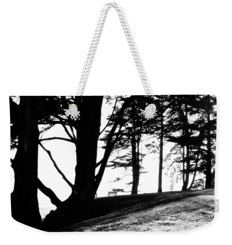 Quiet Weekender Tote Bag featuring the photograph Quite Time Of Day 2 by Marilyn Hunt