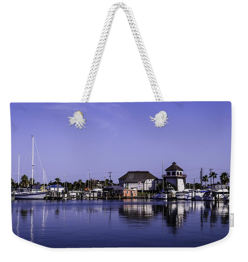 Marina Weekender Tote Bag featuring the photograph R Marina 6 by Leticia Latocki