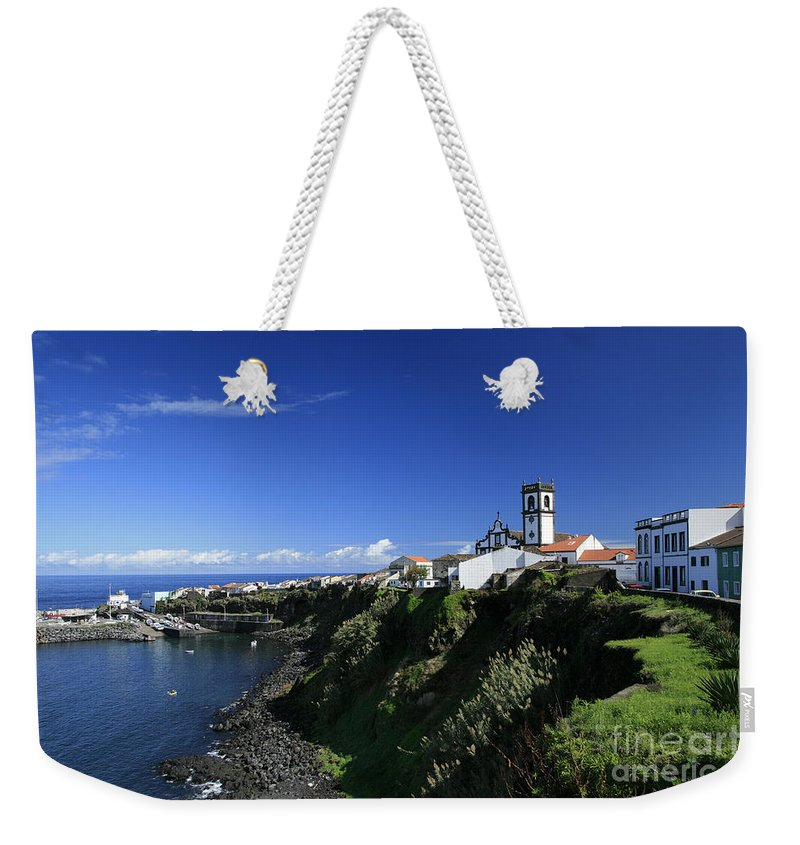 Azores Weekender Tote Bag featuring the photograph Rabo De Peixe by Gaspar Avila