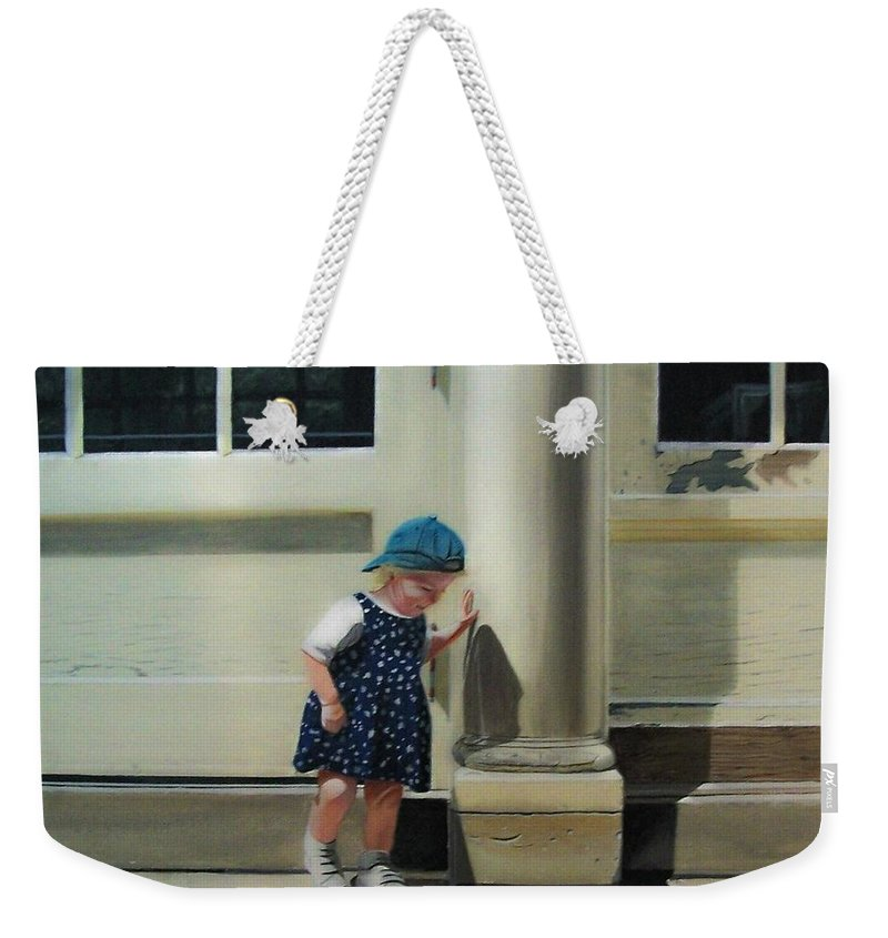 Children Weekender Tote Bag featuring the painting Rachel by Kenneth M Kirsch