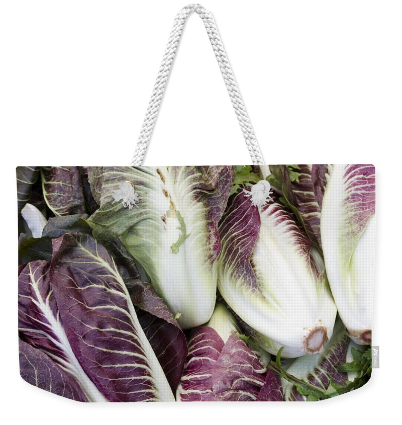 Summer Weekender Tote Bag featuring the photograph Radicchio by John Trax