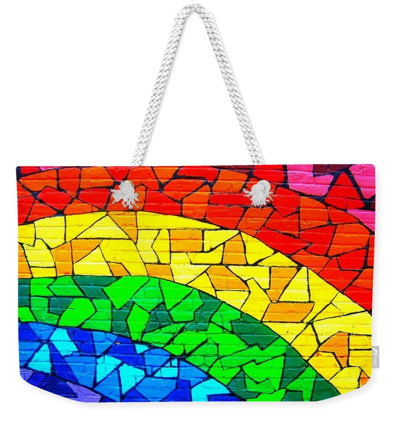 Rainbow Weekender Tote Bag featuring the photograph Rainbow ... by Juergen Weiss