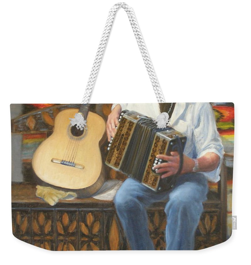 Realism Weekender Tote Bag featuring the painting Rainbow Sky by Donelli DiMaria