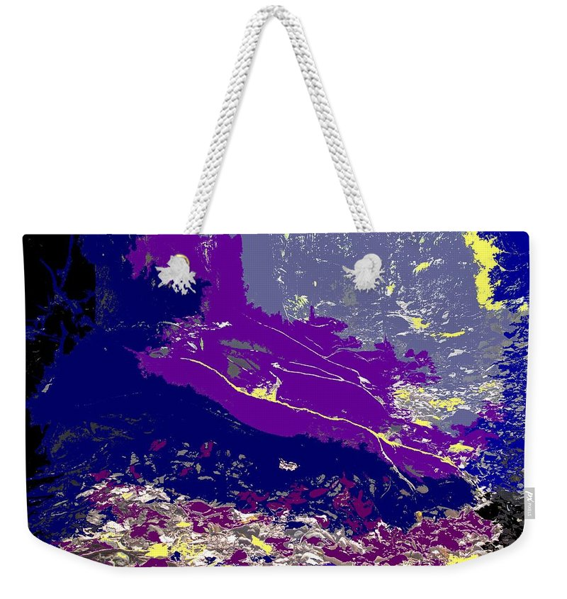 Rainforest Weekender Tote Bag featuring the photograph Rainforest Shadows by Ian MacDonald