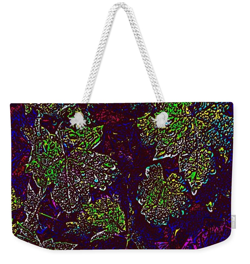 Weather Weekender Tote Bag featuring the digital art Rainy Day Delight 2 by Tim Allen