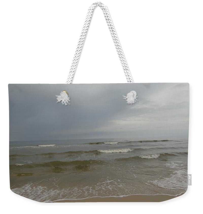 Photography Weekender Tote Bag featuring the photograph Rainy Day by Maria Woithofer