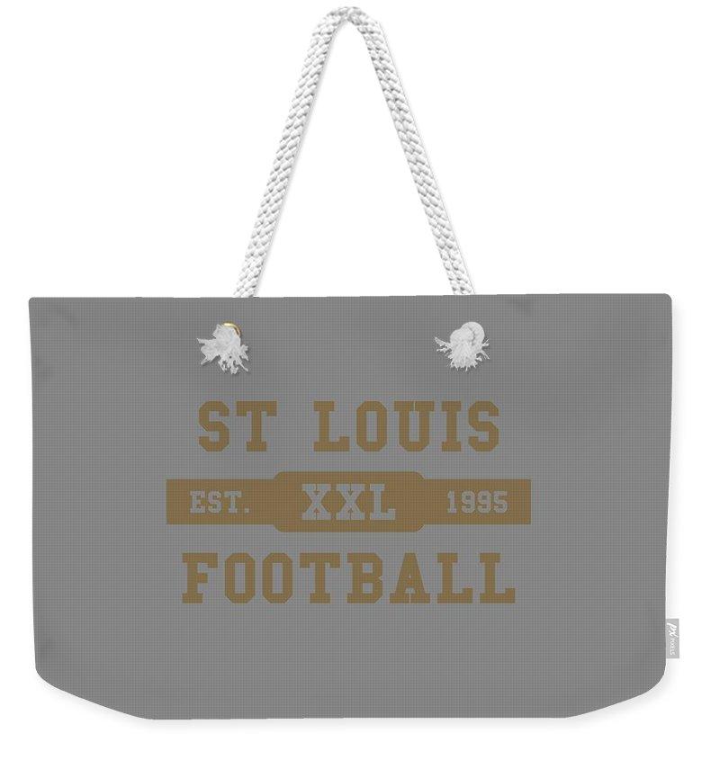 Rams Weekender Tote Bag featuring the photograph Rams Retro Shirt by Joe Hamilton