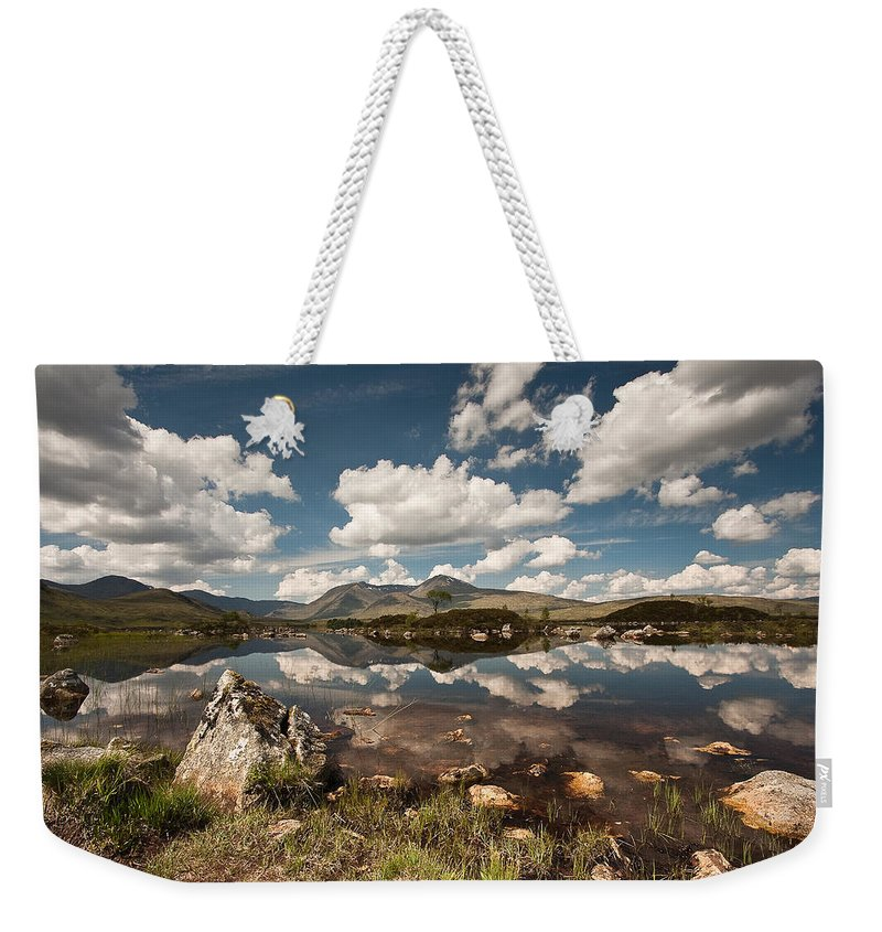 Scotland Weekender Tote Bag featuring the photograph Rannoch Moor by Colette Panaioti