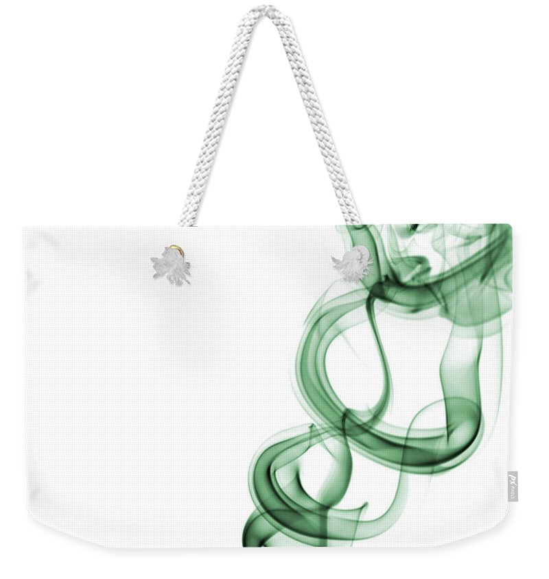 Abstract Weekender Tote Bag featuring the photograph Rapture by Shannon Workman