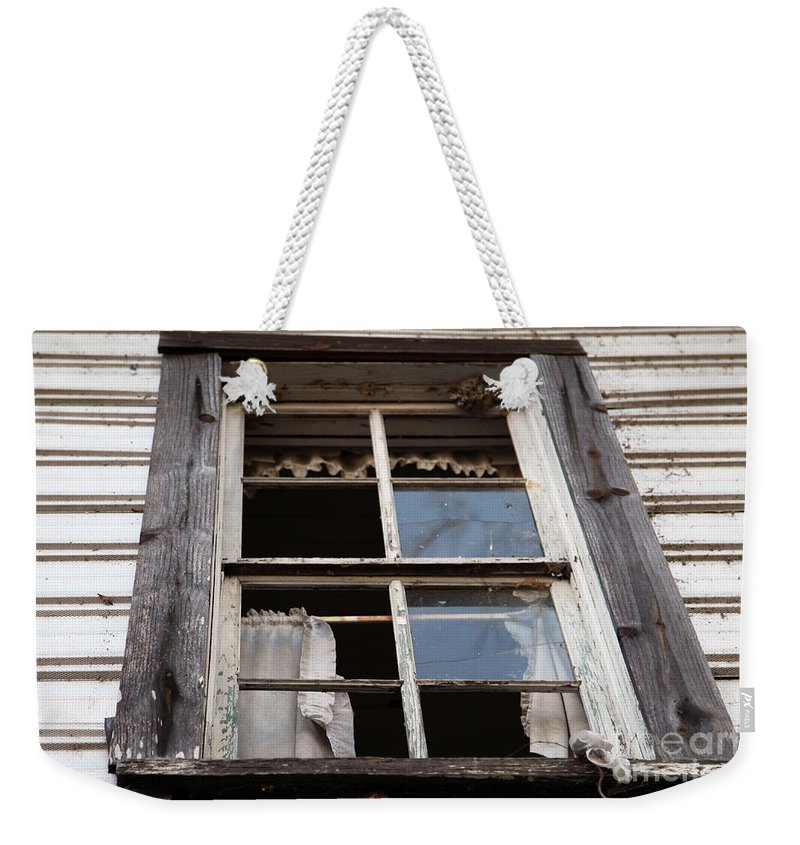 Rapunzel's Decay Weekender Tote Bag featuring the photograph Rapunzel's Decay by Amanda Barcon