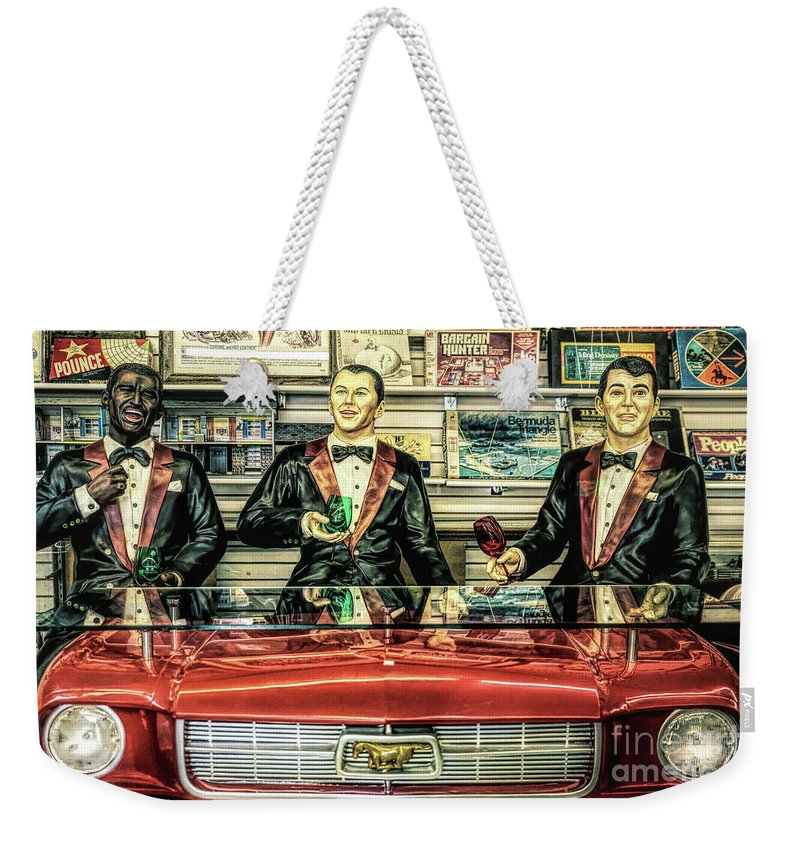 Rat Pack Weekender Tote Bag featuring the photograph Rat Pack by Lynn Sprowl
