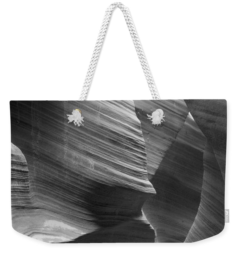 Slot Weekender Tote Bag featuring the photograph Rattlesnake Canyon 7803 by Bob Neiman