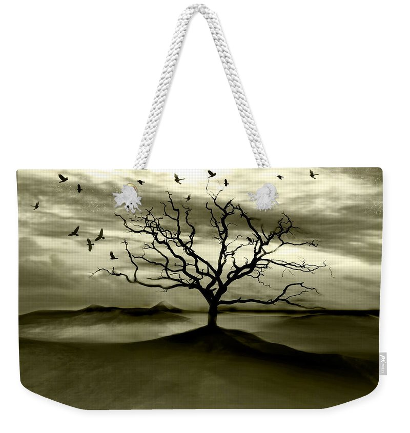Landscape Weekender Tote Bag featuring the photograph Raven Valley by Jacky Gerritsen