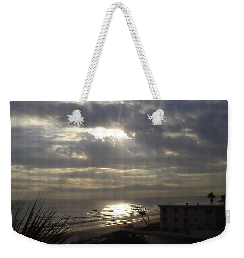 Landscape Weekender Tote Bag featuring the photograph Ray Of Light by Charleen Treasures