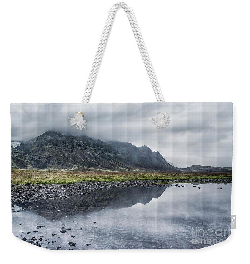 Kremsdorf Weekender Tote Bag featuring the photograph Reaching Deep by Evelina Kremsdorf