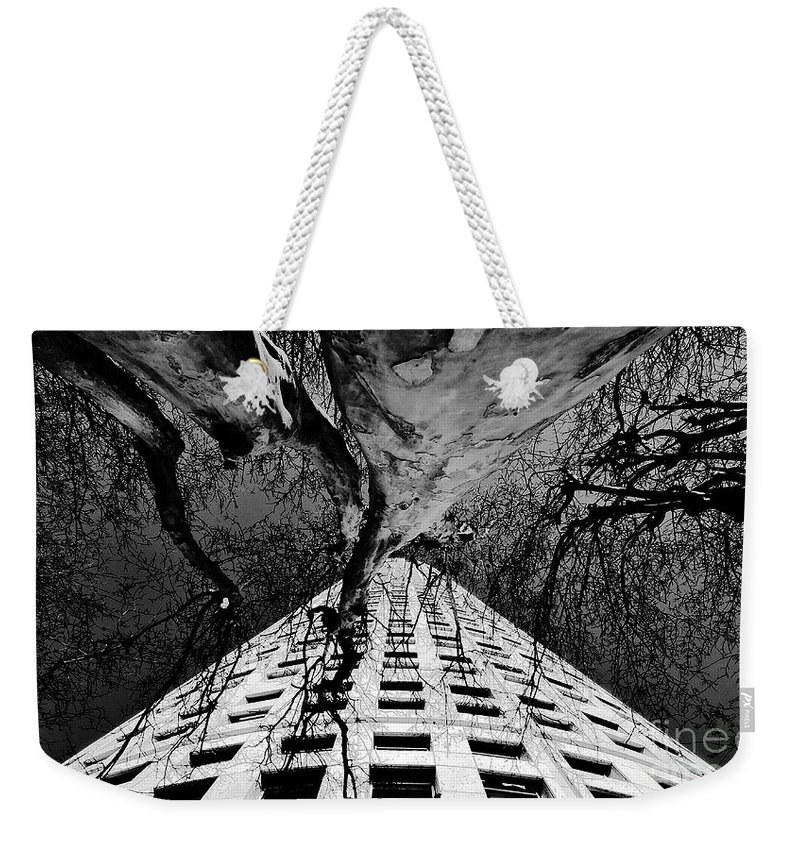 Art Weekender Tote Bag featuring the painting Reaching Up by David Lee Thompson