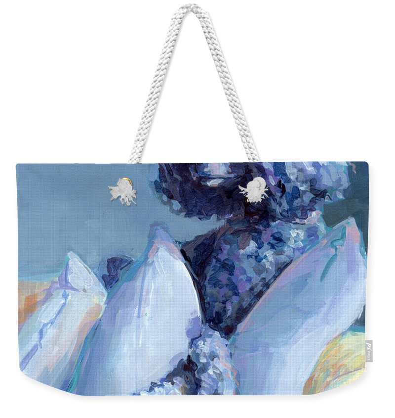 Poodle Paintings Weekender Tote Bags
