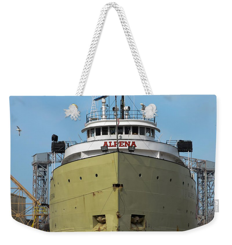 Christopher List Weekender Tote Bag featuring the photograph Ready To Sail by Gales Of November