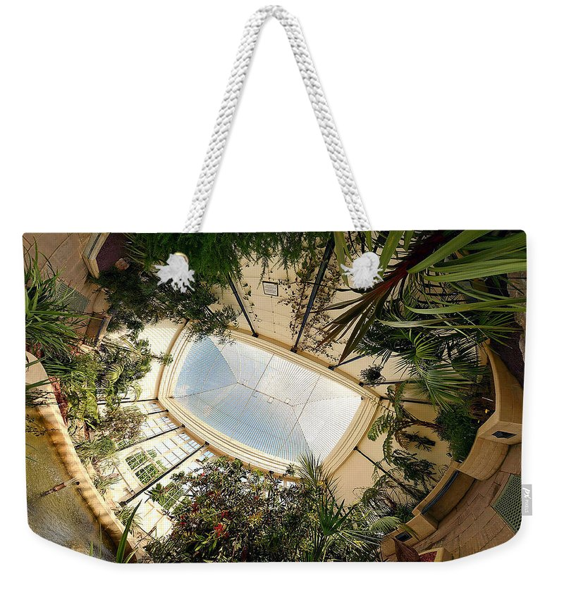 Real World Weekender Tote Bag featuring the digital art Real World by Maye Loeser