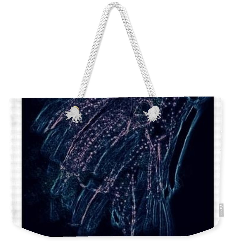 Illustration Weekender Tote Bag featuring the drawing Reanimated by Kerri Thompson