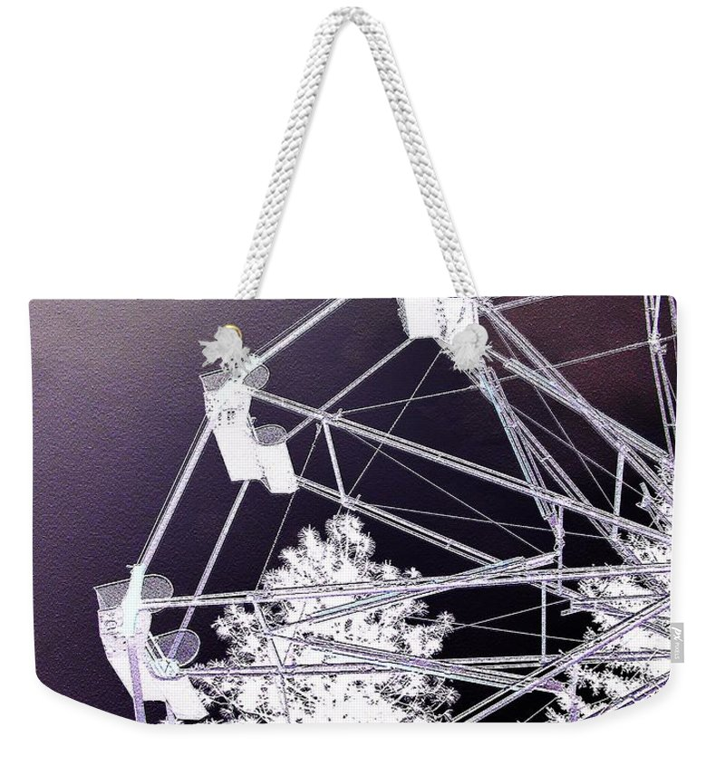 Ferris-wheel Weekender Tote Bag featuring the photograph Recurring Dreams by Susan Kinney