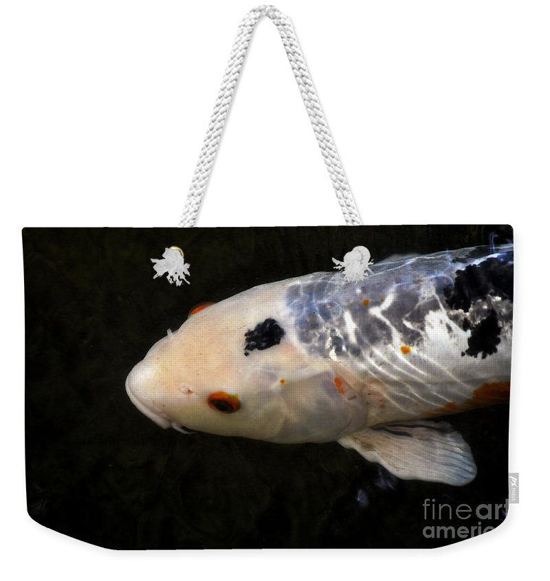 Clay Weekender Tote Bag featuring the photograph Red Eye by Clayton Bruster