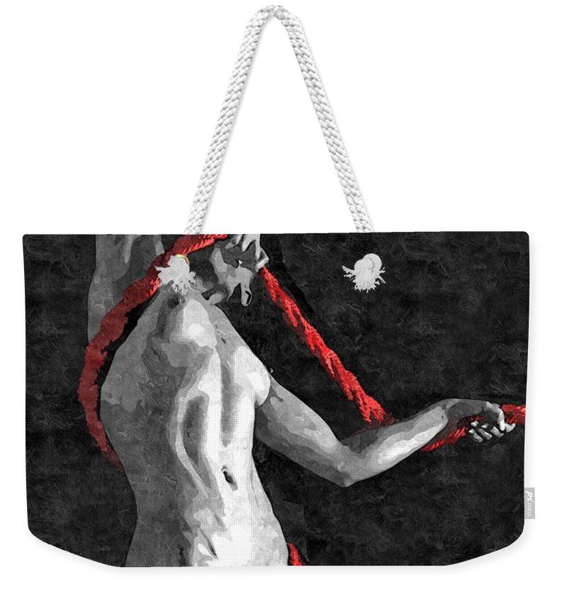 Cotton Tote Bag I Love Bondage