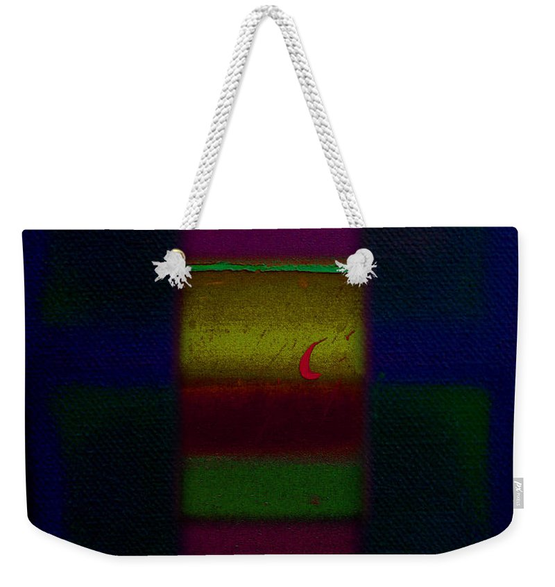 Rothko Weekender Tote Bag featuring the painting Red Sails In The Sunset by Charles Stuart